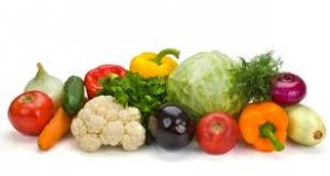 vegetables and fruits diet