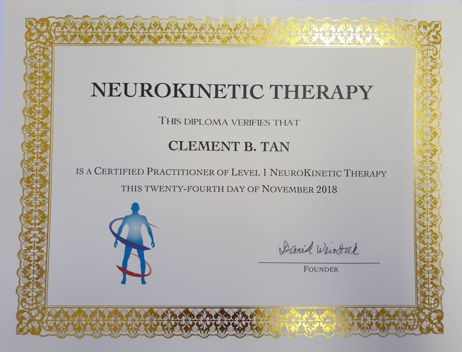 Neurokinetic Therapy Certified Practitioner